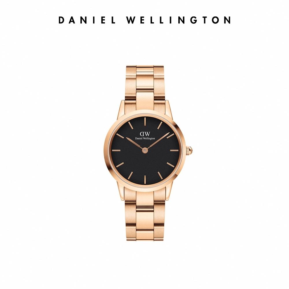 【Daniel Wellington】官方直營 Iconic Link 28mm精鋼錶-特調玫瑰金 DW手錶 女錶
