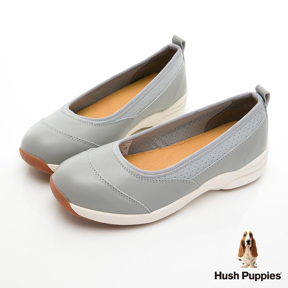 Hush Puppies Loafer 增高娃娃鞋-淺灰