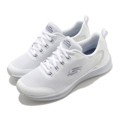 Skechers 休閒鞋 Skech Air Element 2 女鞋 氣墊 避震 緩衝 支撐 穿搭 白 銀 149403WNV