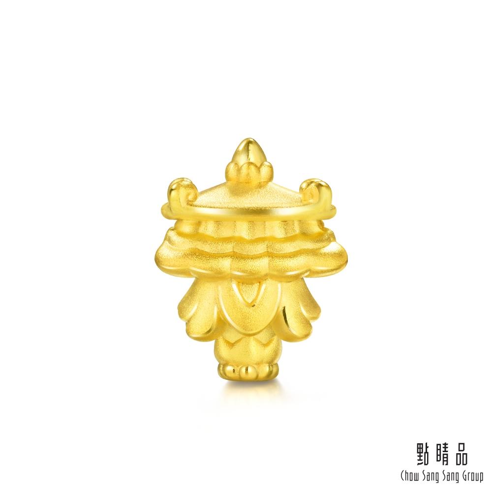 點睛品 Charme 文化祝福 八瑞相寶傘 黃金串珠
