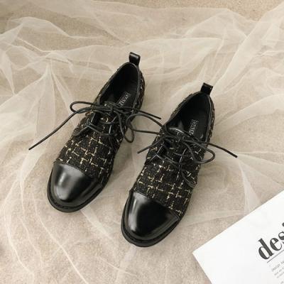 KEITH-WILL時尚鞋館 法式優雅復古牛津鞋-黑