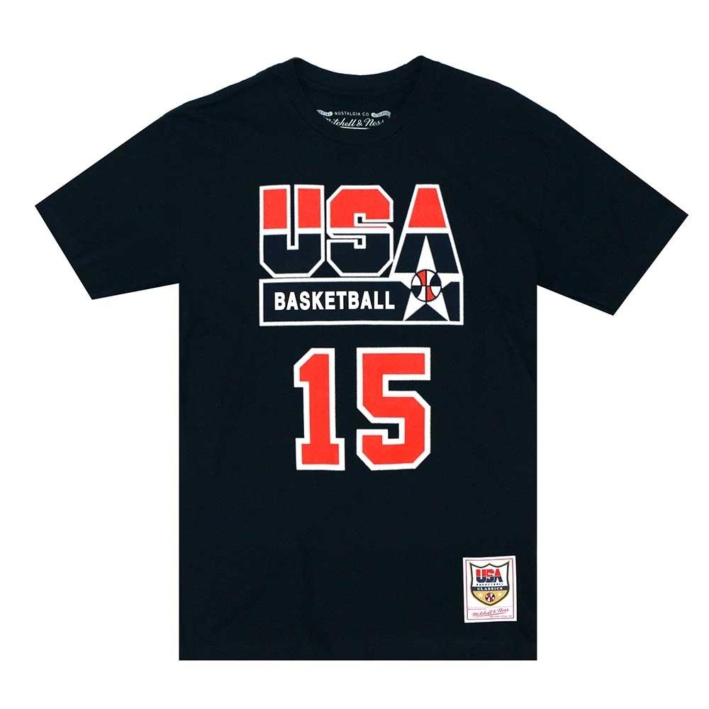 M&N 92 Dream Team 球員號碼短T #15 Magic Johnson