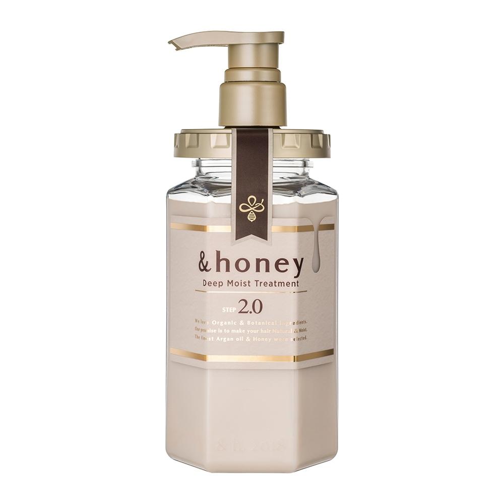 日本&honey蜂蜜亮澤修護護髮乳2.0