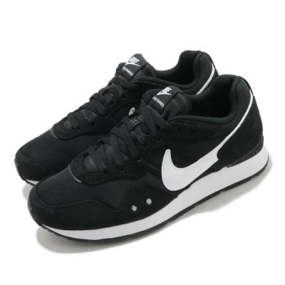 Nike 休閒鞋 W Venture Runner 女鞋 Wide 復古 低筒 情侶鞋 麂皮 黑 白 DM8454001