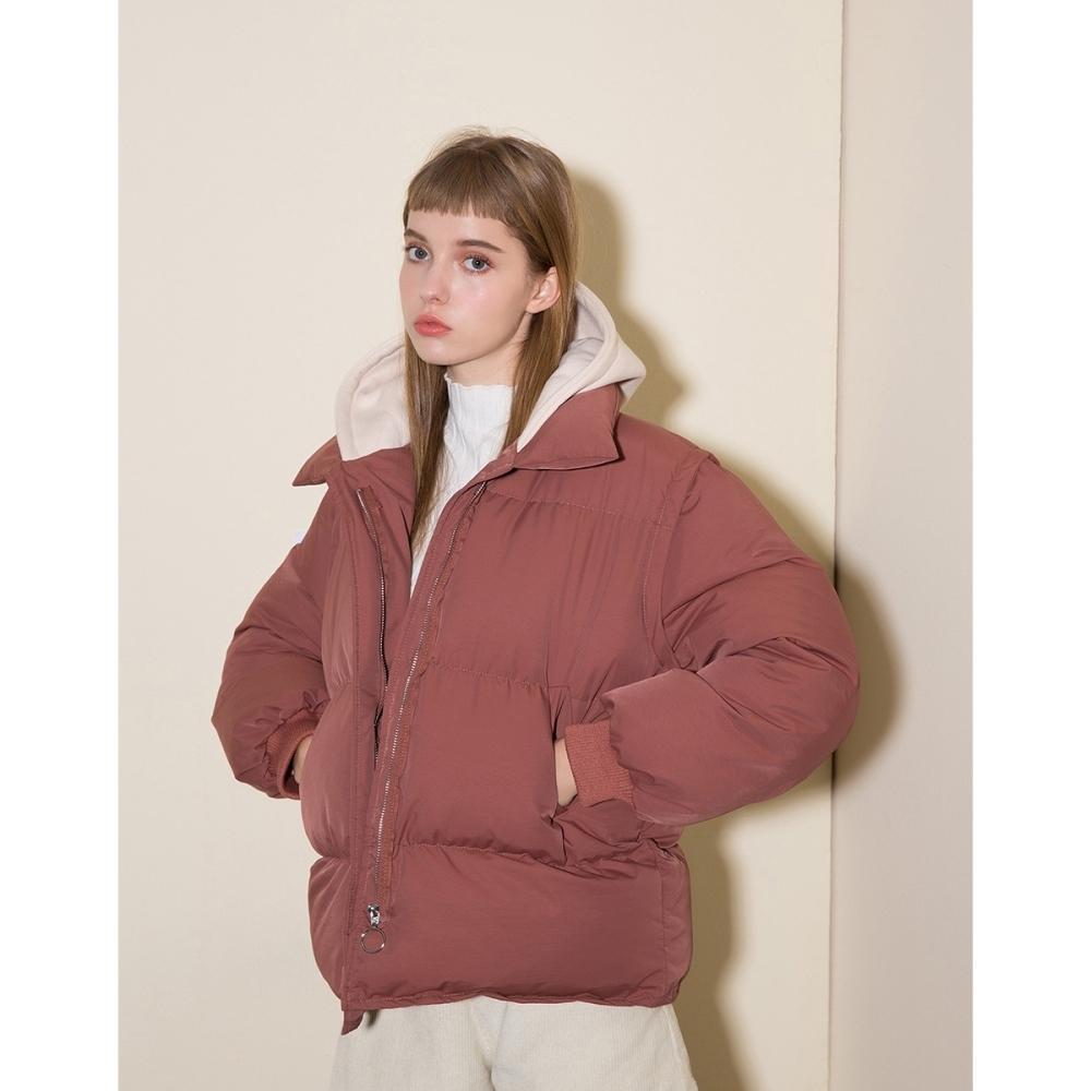 Shester55-連帽鋪棉麵包外套(二色)-女【A2SH149】