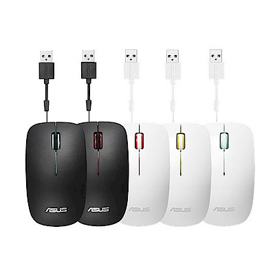 ASUS 華碩 UT300 OPTICAL MOUSE 可伸縮式滑鼠