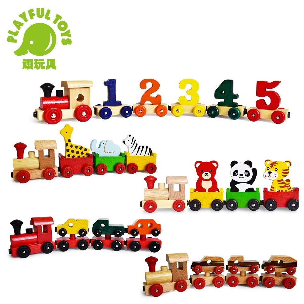 Playful Toys 頑玩具 磁性拖拉火車系列 (多款可選)