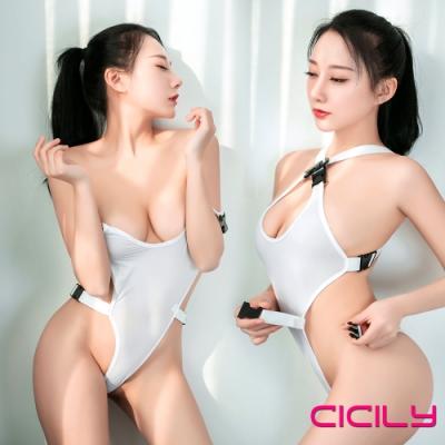 虐戀精品CICILY 絕對領域 開超叉 死庫水 情趣泳衣