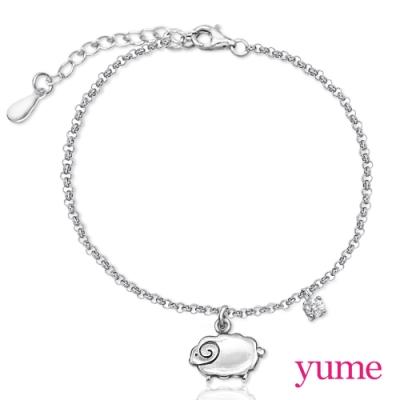 【YUME】 sweet 綿羊手鍊