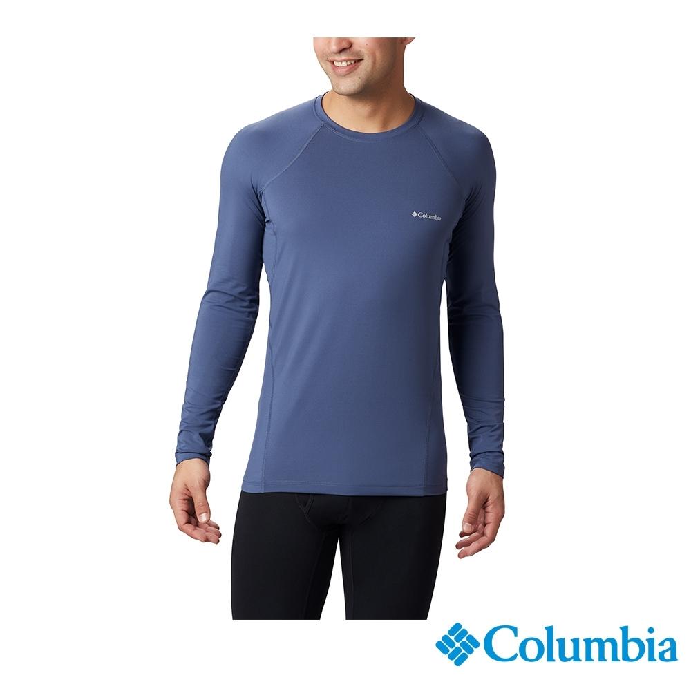Columbia 哥倫比亞 男款- Omni-HEAT保暖快排內著上衣-墨藍