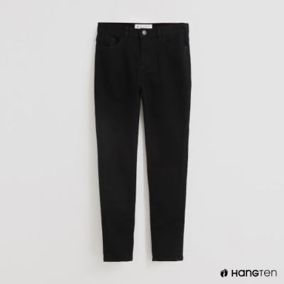 Hang Ten-女裝SKINNY FIT素面窄管牛仔褲