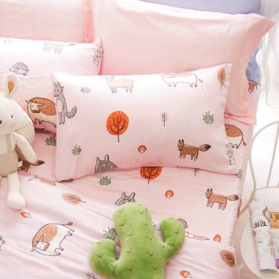 OLIVIA  童話星球 粉  標準單人床包枕套兩件組 230織天絲TM萊賽爾 台灣製