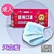 釩泰 醫療口罩(未滅菌) 平面成人口罩-天空藍(30片/盒裝) product thumbnail 2