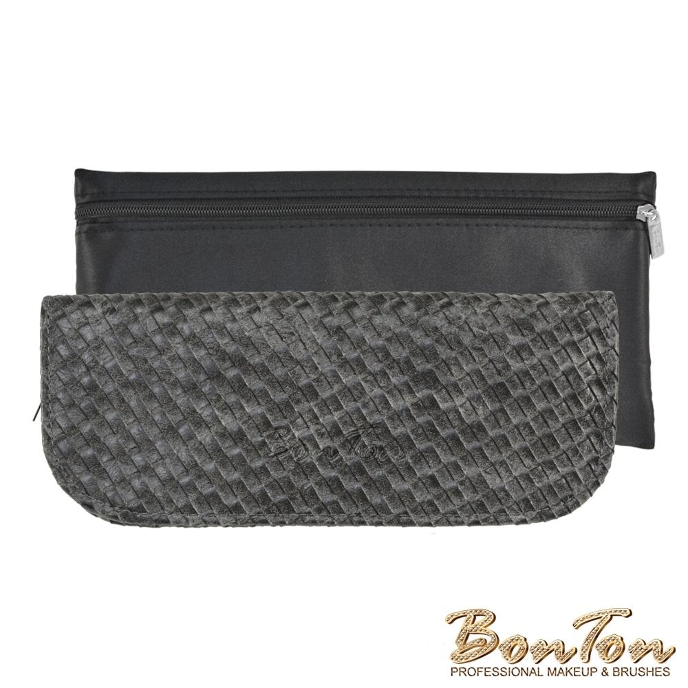 BonTon 6支黑皮革編織刷具包