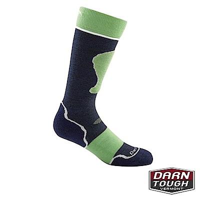 【美國DARN TOUGH】孩羊毛襪JR. OVER健行襪(2入顏色隨機)