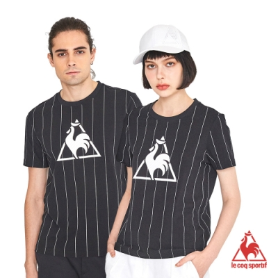 法國公雞牌短袖T恤 LNK2313799-中性-黑