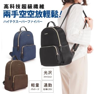 CHENSON 好輕好好背Daypack日常中背包 黑(CG82591-3)