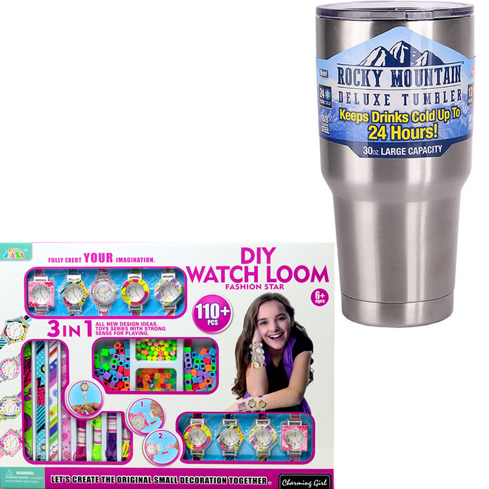 《Fashion Star》女孩最愛DIY編織時尚手錶套組+冰霸杯組