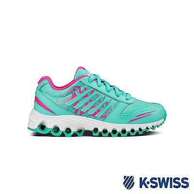 K-Swiss X-160 全方位運動鞋-童-綠/螢光粉