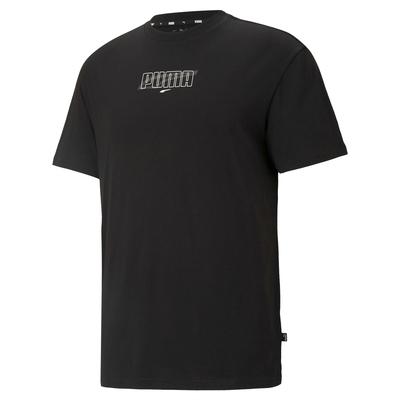 【PUMA官方旗艦】基本系列Rebel圖樣短袖T恤 男性 58782401