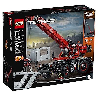 樂高LEGO 科技系列  LT42082 曠野地形起重機