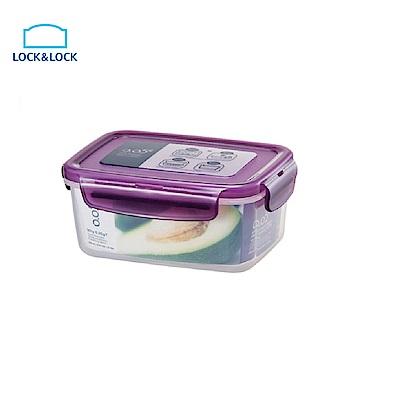 樂扣樂扣O.O5系列保鮮盒/長方型630ML(魅力紫)(快)
