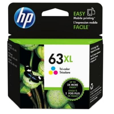 HP F6U63AA 原廠彩色高容墨水匣 NO:63XL
