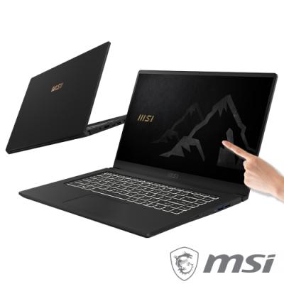 MSI 微星 Summit E15 A11SCST-052TW 15.6吋觸控商務筆電(i7-1185G7/16G/GTX1650Ti-4G/1T SSD/Win10 Pro)