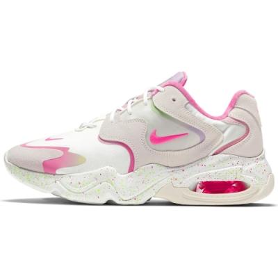 NIKE AIR MAX 2X 女休閒鞋-白粉-DD8484161
