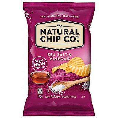 澳洲Natural 海鹽酸醋口味厚片波浪洋芋片(175g)