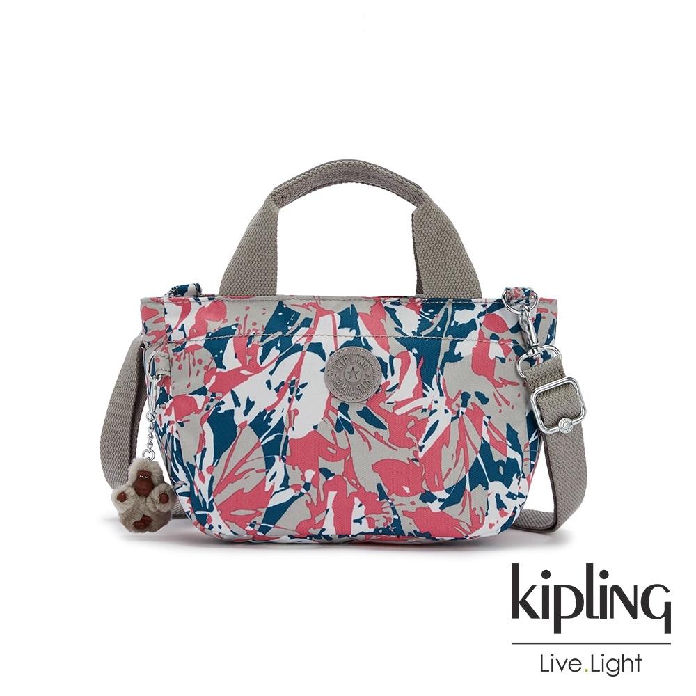 Kipling 碰撞魅力潑墨手提兩用斜背包-SUGAR S II