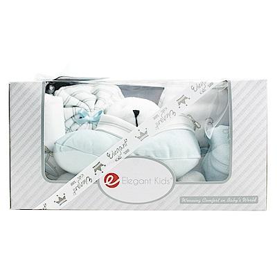 美國Elegant kids彌月禮盒-藍色小熊沐浴7件式禮盒