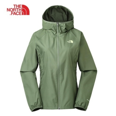 The North Face 女 風衣外套 綠-NF0A3RL8ZCE