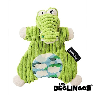 Les Deglingos 套手玩偶--鱷魚 (ALIGATOS)