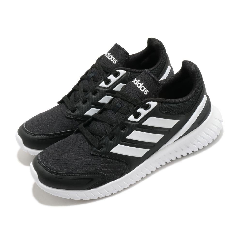 adidas 慢跑鞋 Ventrus 運動休閒 男鞋 海外限定 愛迪達 基本款 路跑 穿搭 黑 白 FU7721