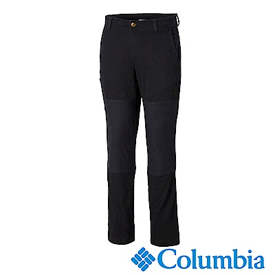 Columbia 哥倫比亞 男款-彈性長褲-黑色