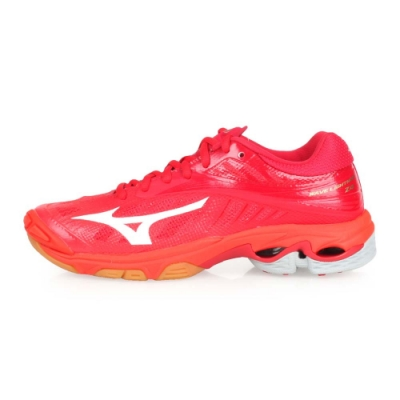 MIZUNO WAVE LIGHTNING Z4 男排球鞋-排球 訓練 紅白