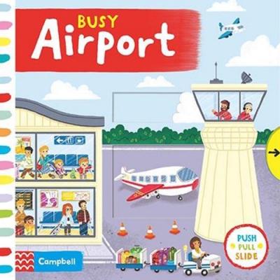 Busy Airport 忙碌的機場硬頁操作拉拉書