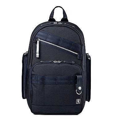 PORTER - 經典新進化NEW HEAT高機能型格後背包 - 深藍