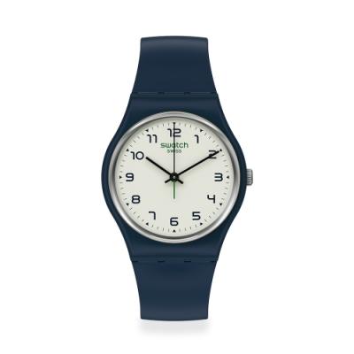 Swatch Gent 原創系列手錶 SIGAN時光1983-朝鮮-34mm