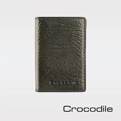 Crocodile牛頸紋系列名片夾 0103-08907