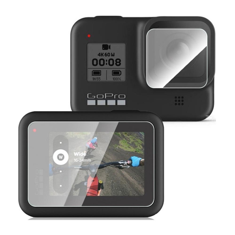 Qii GoPro HERO 8 Black 玻璃貼(鏡頭+螢幕)