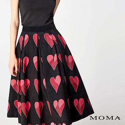 MOMA 愛心活褶大圓裙