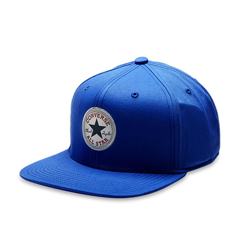 CONVERSE-棒球帽10005220-A01-亮藍