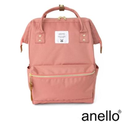 anello 經典口金後背包 淺粉色 Regular