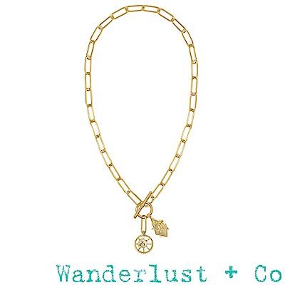 Wanderlust+Co蜜蜂XL鎖鍊項鍊
