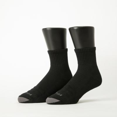 Footer除臭襪-螺旋氣墊輕壓力襪-六雙入(黑色*2+灰色*2+黃色*2)