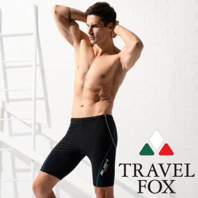 TRAVEL FOX夏之戀 大男七分泳褲-加大尺碼