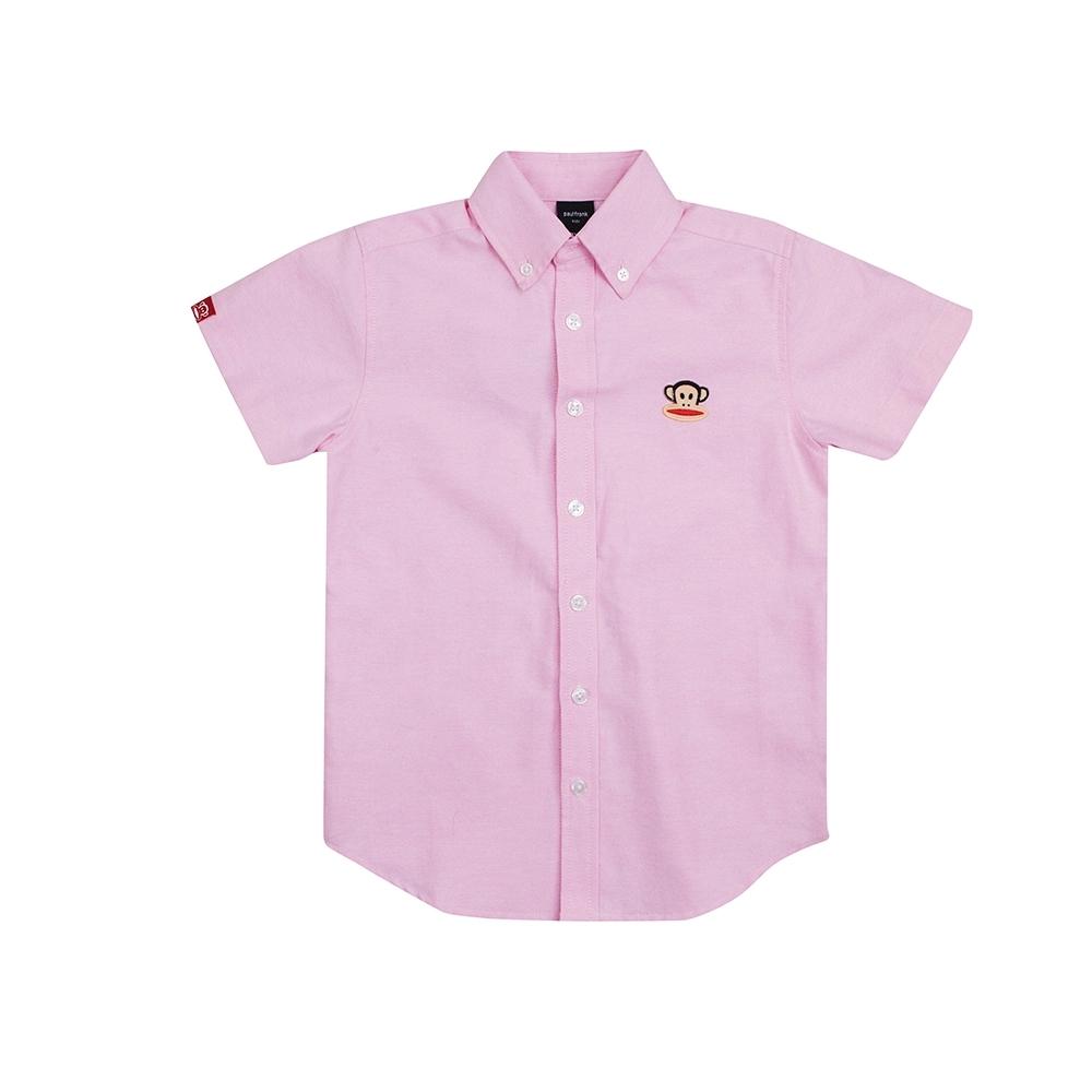 paul frank 牛津短袖襯衫-淺粉紅(童)