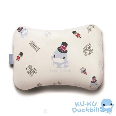 KUKU酷咕鴨 3D雙面透氣四季枕(藍/粉)